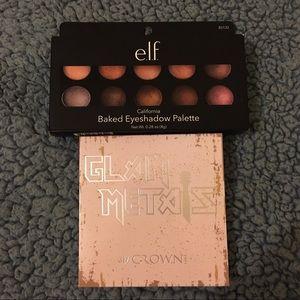 Crown and elf eyeshadow palette
